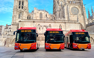 MAN incrementa su presencia en Burgos con Castrosua