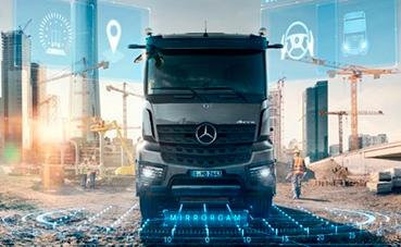Daimler Trucks estará presente en la exposición Bauma 2019