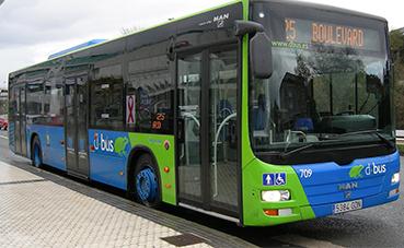 Dbus incorpora su autobús número 500