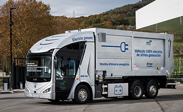 El Irizar ie truck, galardonado en los Premios World Smart City