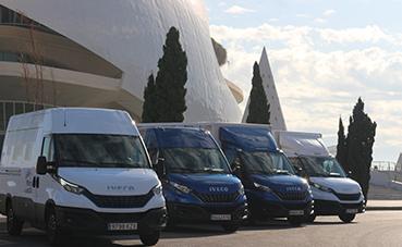 La Iveco Daily que recorre España llega a la Comunidad Valenciana