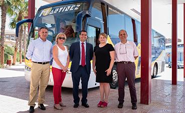 Murcia subvencionó las líneas de débil tráfico