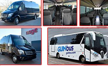 Nogebus hace entrega de tres unidades a Sagalés y GinBus