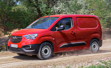 Mejor tracción y estabilidad en el nuevo Opel Combo Cargo