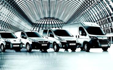Peugeot consigue un 14% de cuota de mercado de comerciales en 2019