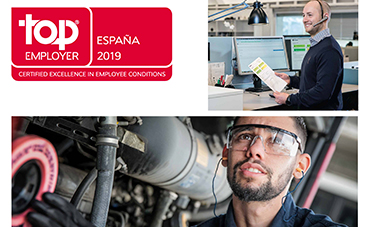 Scania, nombrada empresa Top Employer por cuarto año consecutivo