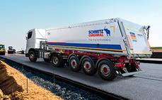 Schmitz Cargobull lleva a Bauma 2019 su semirremolque basculante S.KI