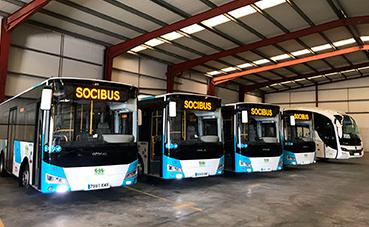 La nueva base de Socibus alcanza los 200.000 viajeros