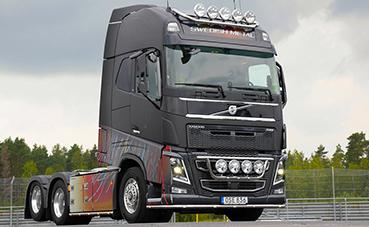 Sale a subasta el camión Swedish Metal de Volvo Trucks