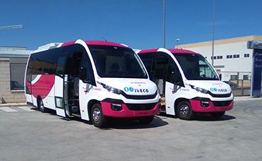 Unvi entrega cinco vehículos Iveco a Grupo Ruiz