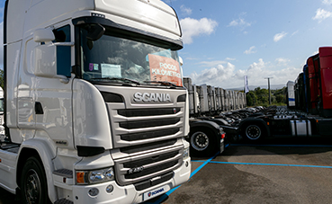 Nuevas jornadas del vehículo de ocasión de Scania