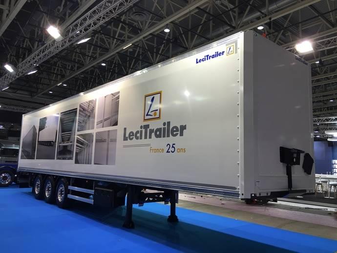 Éxito de venta y asistentes de Lecitrailer en la feria Solutrans 2017