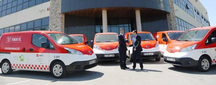 Las eNV200 de Nissan contribuyen a que Falck VL reduzca en un 40% los costes de mantenimiento.