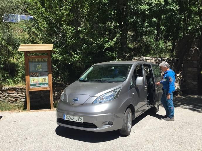 La Sierra del Rincón adquiere la Nissan e-NV200 por ser una furgoneta completamente eléctrica