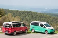 Nissan expone su nueva gama Camper por toda España
