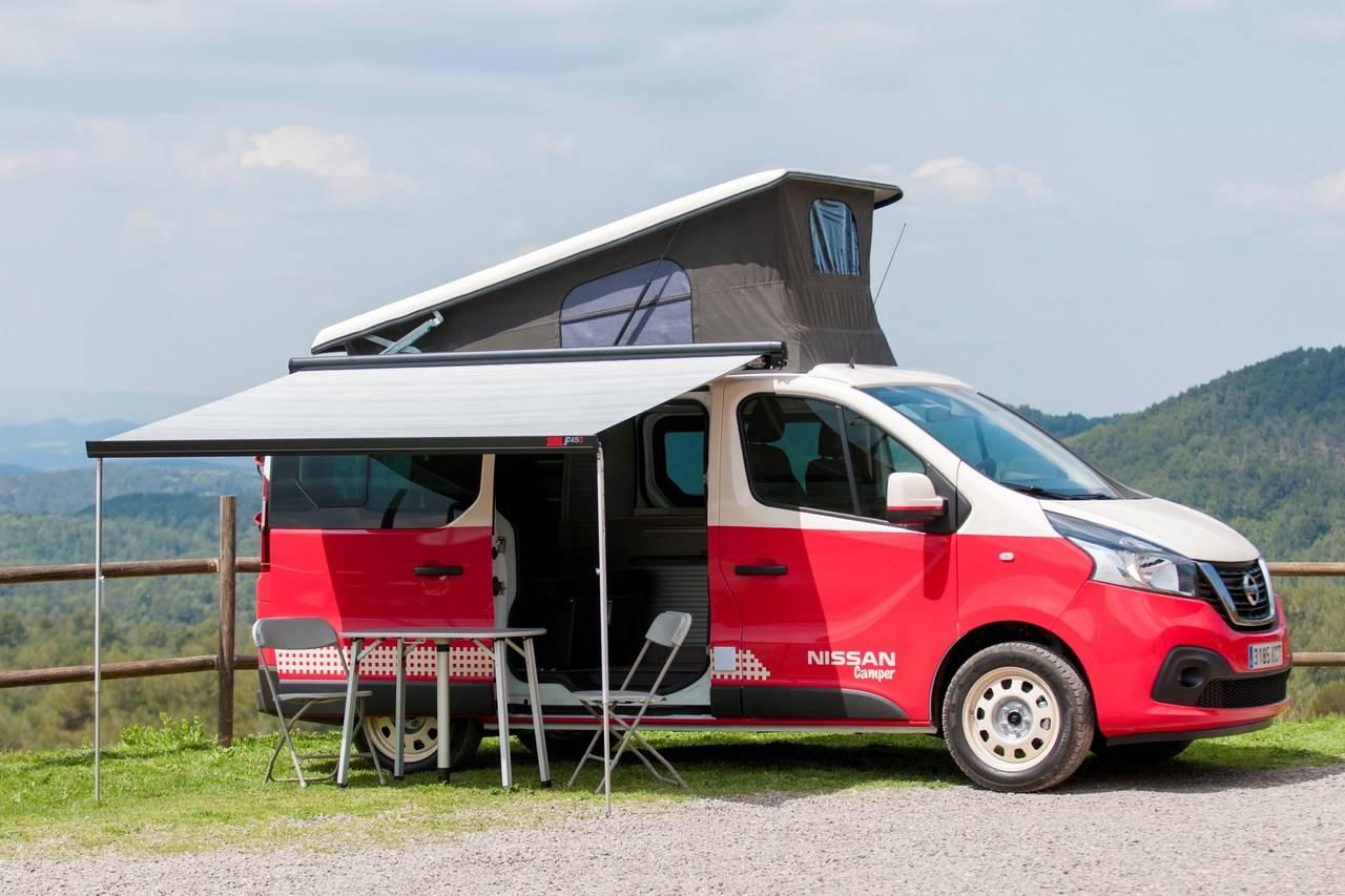 nissan expone su nueva gama camper por toda espa a nexotrans. Black Bedroom Furniture Sets. Home Design Ideas