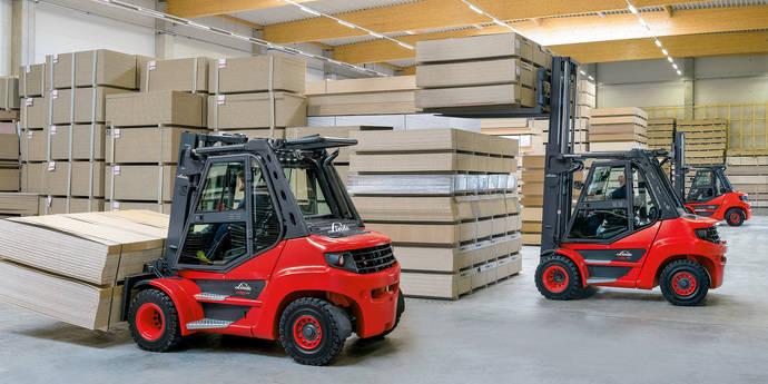 Nuevas carretillas diésel y GLP Linde H50-H80 EVO con buenas capacidades