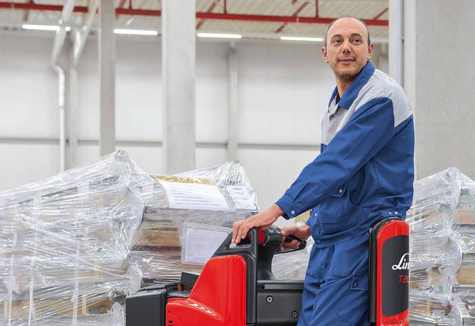 Linde une fiabilidad y comodidad en el traslado de mercancías