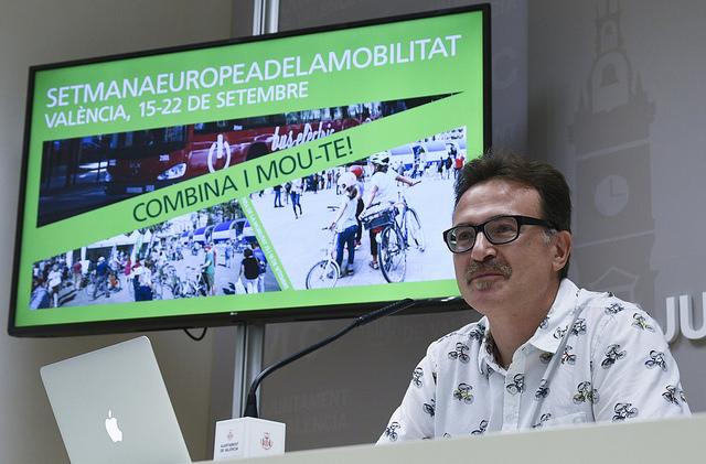 Valencia celebra la cuarta edición de su Semana de la Movilidad