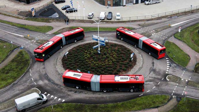 EBusco presenta su última innovación: autobuses articulados