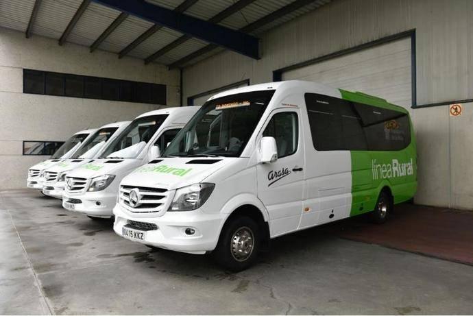 Precios reducidos para algunos grupos, en el uso del autobús en La Rioja
