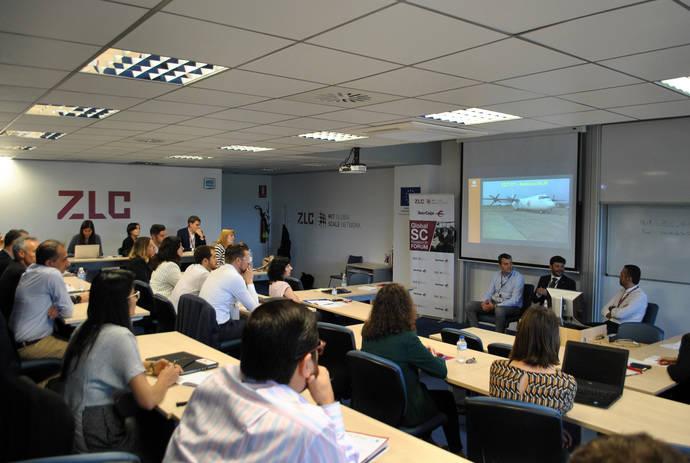 Imagen de un momento de la IV edición del Global Supply Chain Research Forum.