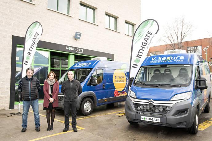 V. Segura adquiere 10 vehículos refrigerados, en renting a Northgate
