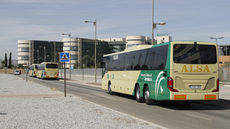 Autobuses del Consorcio de Granada.