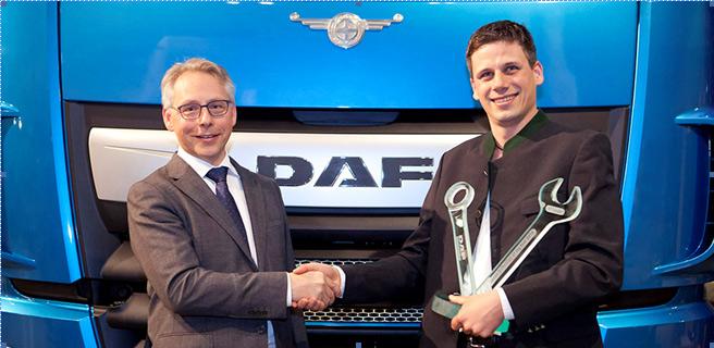 Marin Pavicic se convierte en el mejor técnico DAF de Europa