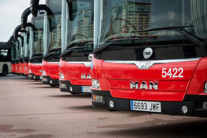 MAN Iberia entrega un total de 28 autobuses urbanos a TMB