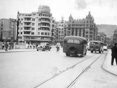 Primer Dbus (Imagen: Museo Vasco del Ferrocarril).