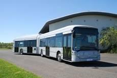 Autobús híbrido Iveco.