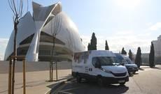 La Caravana Daily Iveco llega a Valencia.