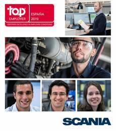 Scania top employer.