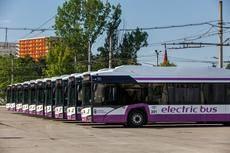 Los buses eléctricos articulados llegan a Rumanía