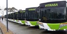 Autobuses Vitrasa.