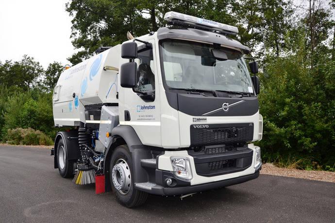 Barredora hidrostática Volvo con caja Allison para Berlín