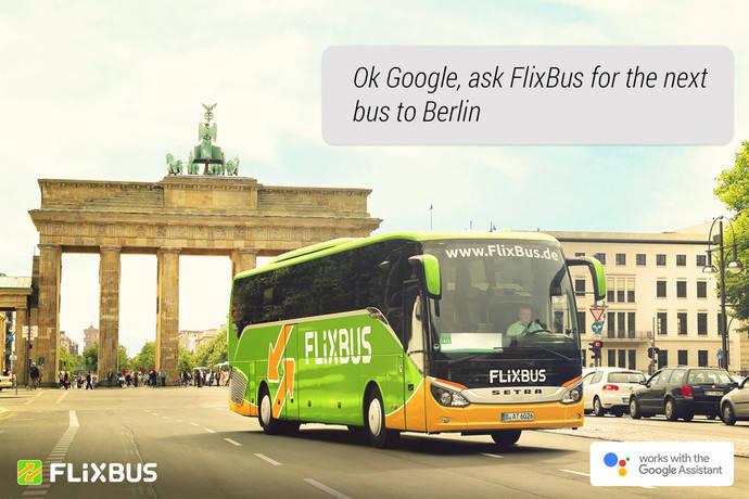 FlixBus le da la mano a Google Assistant