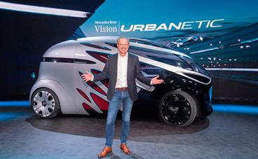 Mercedes Benz desvela su concepto sobre movilidad: Vision Urbanetic