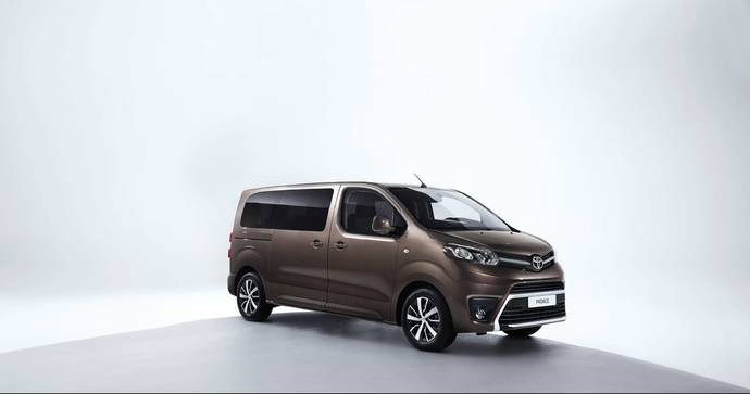 El Proace de Toyota llega a España de la mano de Hertz