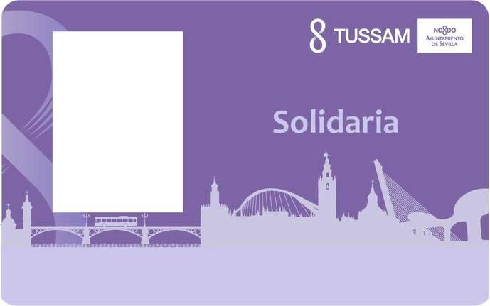 Crece un 12% el uso de la tarjeta solidaria en el urbano de Sevilla
