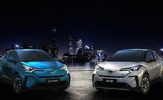 BYD y Toyota crean una empresa para producir vehículos eléctricos