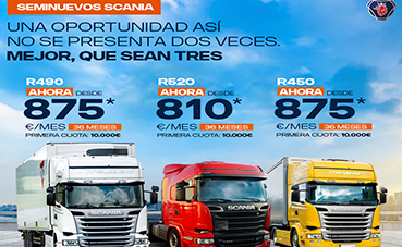 Scania lanza una nueva campaña de seminuevos
