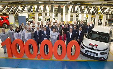 Las matriculaciones de comerciales de Citroën aumentan un 14% en 2018