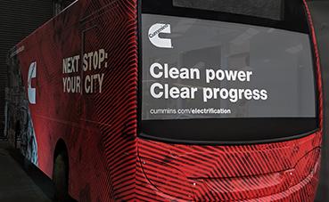 Cummins llevará su próxima generación de baterías a Busworld