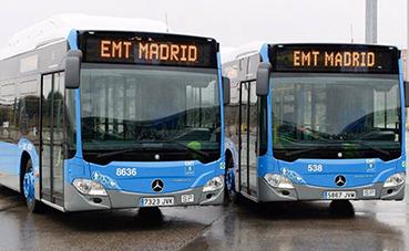 EMT pone autobuses entre Atocha, Recoletos y Nuevos Ministerios