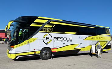 Safety Pioneer, el autobús más seguro gracias al E-Rescue