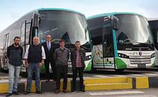 Lurraldebus de Euskotren incorpora dos SB3 articulados