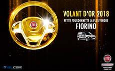 """El Fiat Fiorino galardonado con el premio """"Volant d'or"""""""