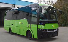 Indcar entrega cinco minibuses a la tinerfeña Titsa